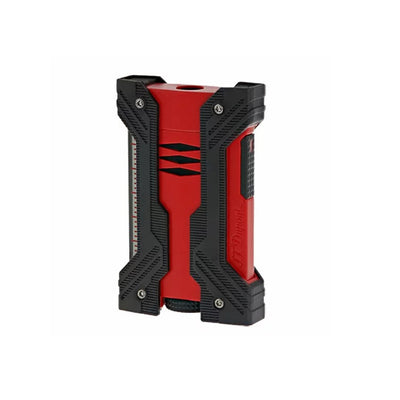 S.T. Dupont Defi XXtreme Lighter - Black and Matte Red
