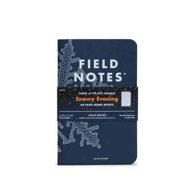 Field Notes - Snowy Evening (Special Edition)