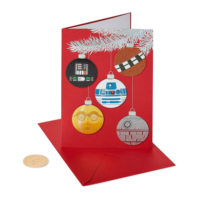 Papyrus Boxed Cards - Star Wars Christmas Ornaments
