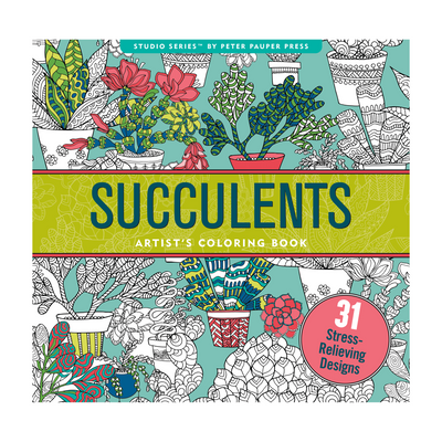 Succelents Adult Coloring Book