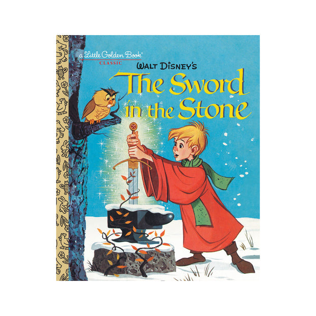 Little Golden Book - Sword In The Stone