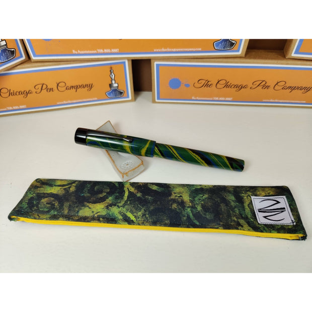 The Chicago Pen Company Birds of the World Fountain Pen - Blue Naped Tanager