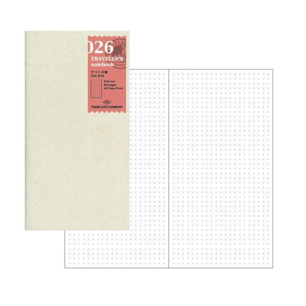 Traveler's Dot Notebook Refill - Regular Size