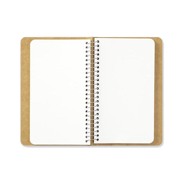 Travelers A6 Slim Blank Notebook w/ MD Paper White