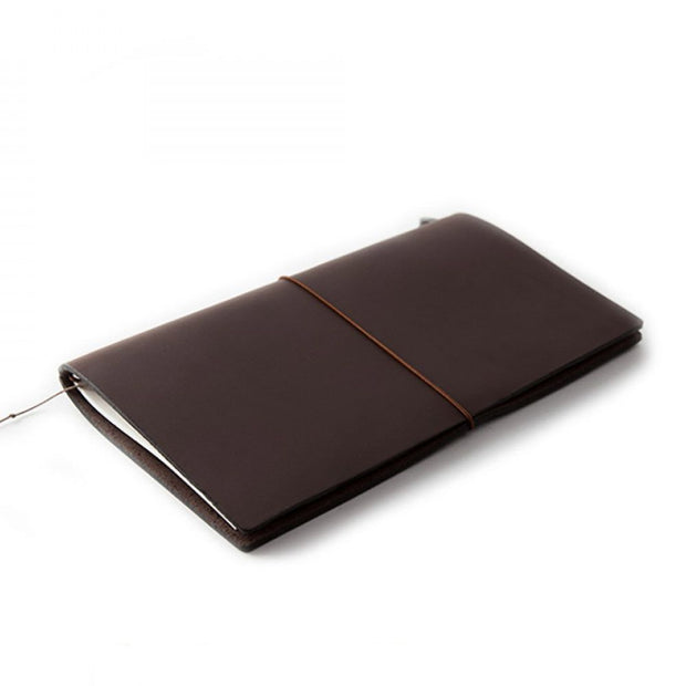Traveler's Leather Notebook - Regular Size - Brown