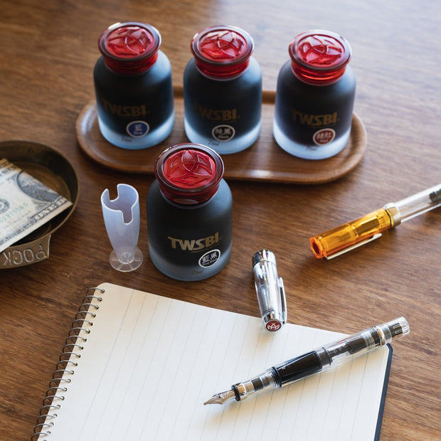 TWSBI Red - 70ml Bottled Ink