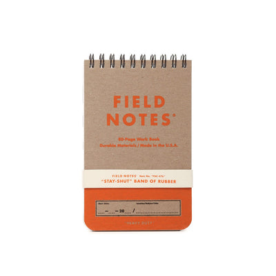 "Field Notes Heavy Duty Summer Edition 3½"" × 5½"" Ruled & Double Graph Grid Paper"
