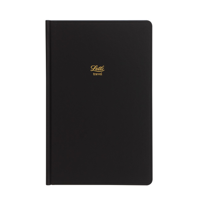 Letts Icon Travel Journal - Black