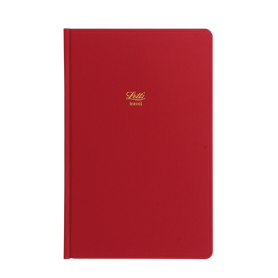 Letts Icon Travel Journal - Red