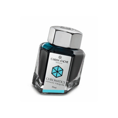 Caran d'Ache Chromatic - Hypnotic Turquoise - 50ml Bottled Ink