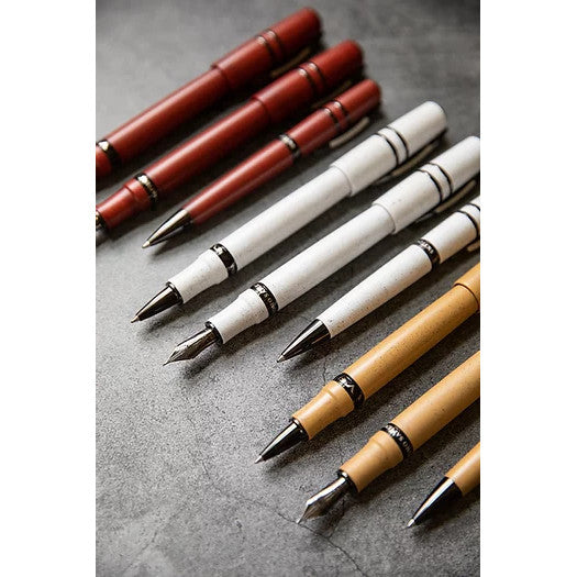 Visconti Homo Sapiens Lava Fountain Pen - Sandstorm