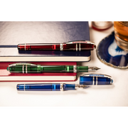 Visconti Homo Sapiens Demo Stones Fountain Pen - Ruby