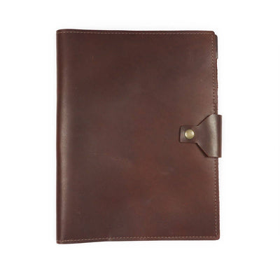 Executive Leather Padfolio - Burgundy