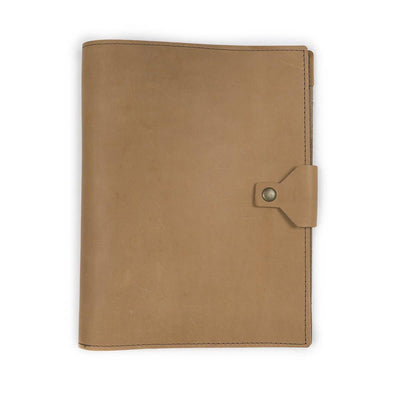 Executive Leather Padfolio - Buckskin