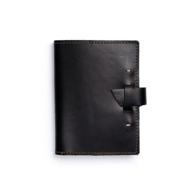 Wasatch Leather Notebook - Black