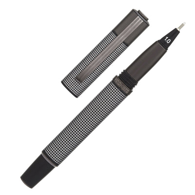 Yookers Metis Fiber Pen - Black Grid / Gunmetal