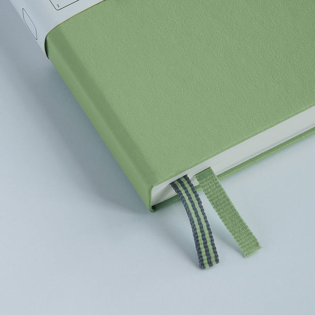 Leuchtturm A5 Hardcover Notebook - Sage - Squared