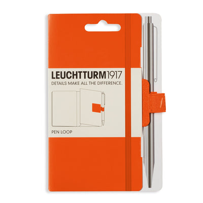 Leuchtturm Orange Pen Loop (Elastic Pen Holder)