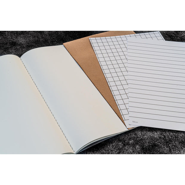 Galen Leather EveryDay Book - Tomoe River Paper - Set of 3 - Passport