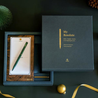 ystudio My Resolute Gift Set - Forest Green