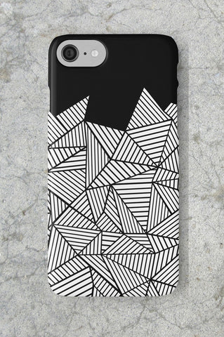Ab Mountain Black Phone Case