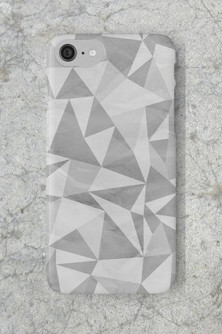 Geometric Grey Phone Case