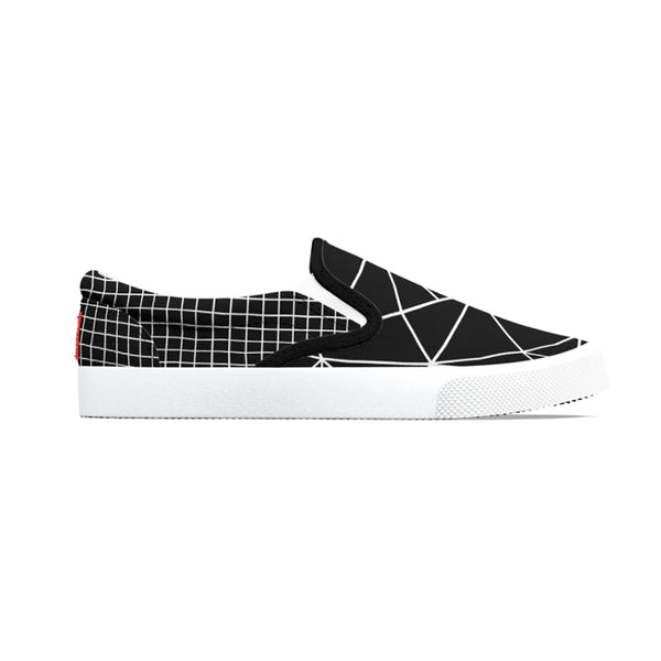 Ab Outline Grid Black Shoe