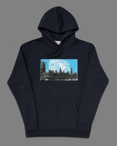 SCANDAL Navy Hood