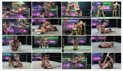 DOWNLOAD - Tina Lockhart vs. Abbey Rhodes (TickleStorm 2008)