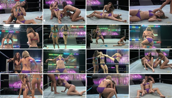 DOWNLOAD - Coed Bikini Beatdown 2 (Hazel v Racquel & Destiny)