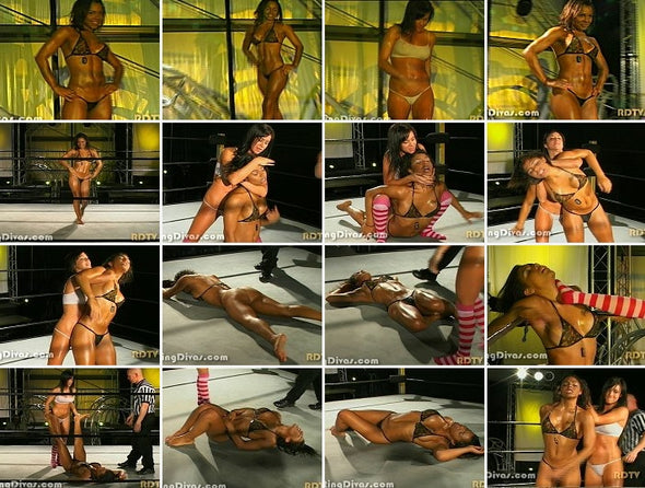 DOWNLOAD - Amber vs. Crystal (Hot Oil Bra & Thong II) EOD 2008