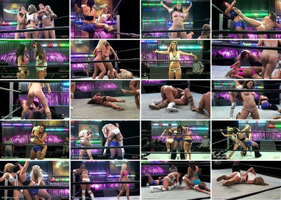 DOWNLOAD - 8 Woman Diva Rumble Main Event (Diva Rumble 2009)