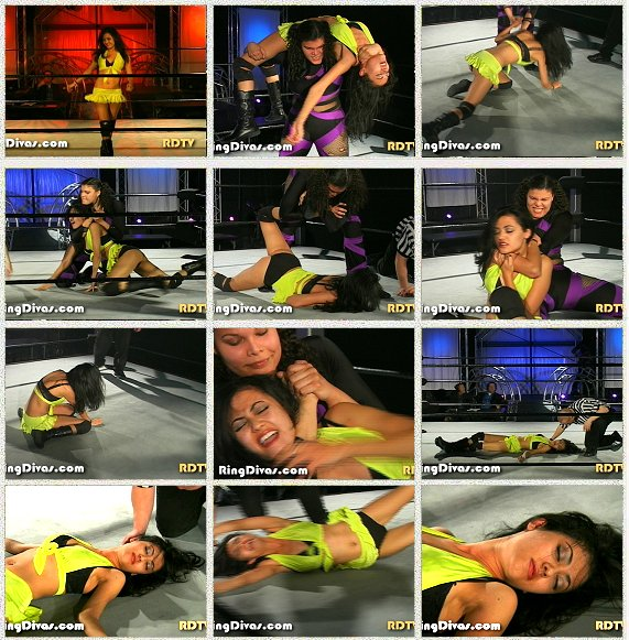 DOWNLOAD - Angelina vs. Vanessa Kraven (CyberStorm 2007)