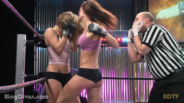DOWNLOAD - Hazel vs Destiny III (Title Match)(Diva Rumble 2011)