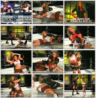 DOWNLOAD - Jessicka Havoc vs. Amber Van Buren (Aftermath 2007)