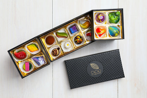 luxury chocolate gift baskets, high end chocolate gift baskets, best gourmet chocolate gift baskets