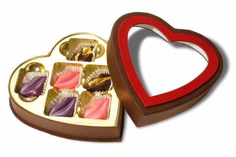 valentine's day chocolate delivery, valentine chocolate hearts, heart shaped chocolate box