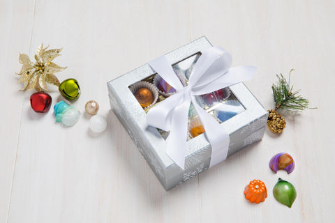 holiday chocolates for clients, best holiday chocolates, gourmet chocolate gifts