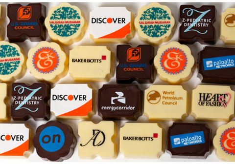 corporate chocolate gifts, corporate logo chocolates, chocolate gifts for employees