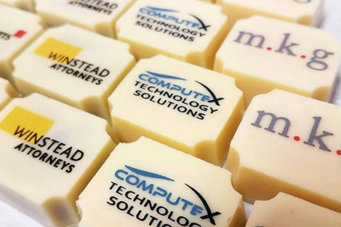 corporate thank you chocolates, personalised thank you chocolates, business thank you chocolates
