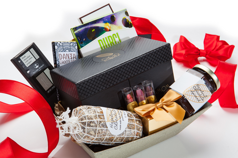 christmas gift delivery usa, best christmas gift baskets, best luxury chocolate gifts