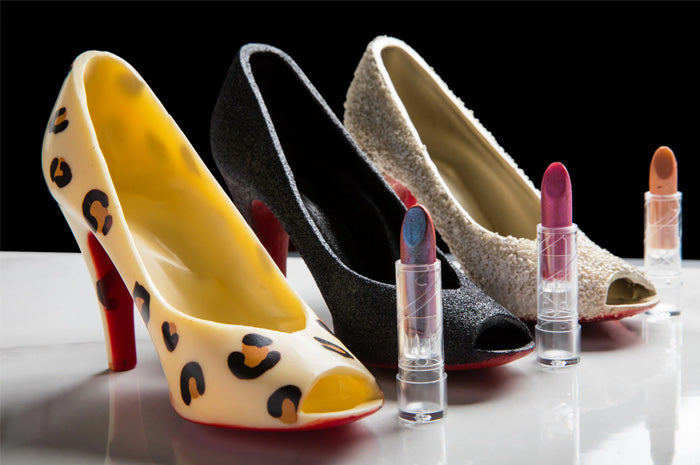 Galentine's Chocolate High Heel Painting Class