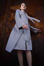 Laden Sie das Bild in den Galerie-Viewer, Adjustable Grey Summer-Coat
