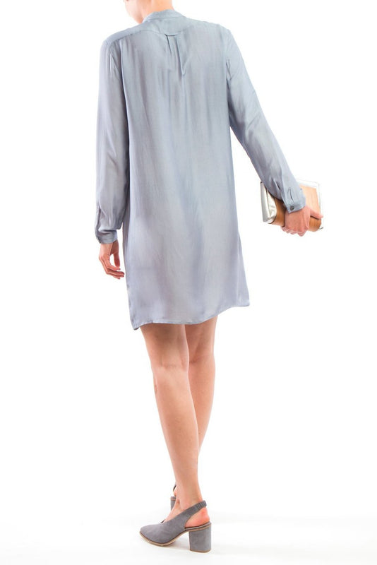 Shirtdress Light Blue