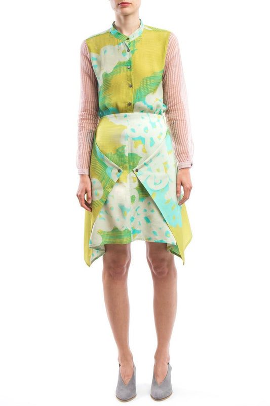 Skirt Modifiable  Yellow