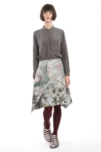 Skirt Modifiable Flower Grey