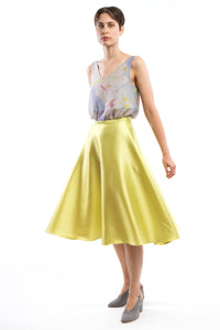 Flared Skirt Yellow