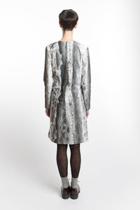 Dress Ice-Crystal Print