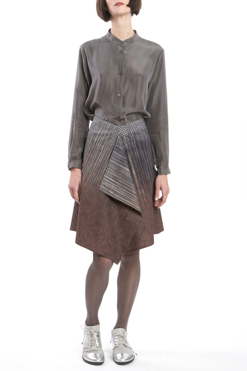 Skirt Modifiable Gradient-brown