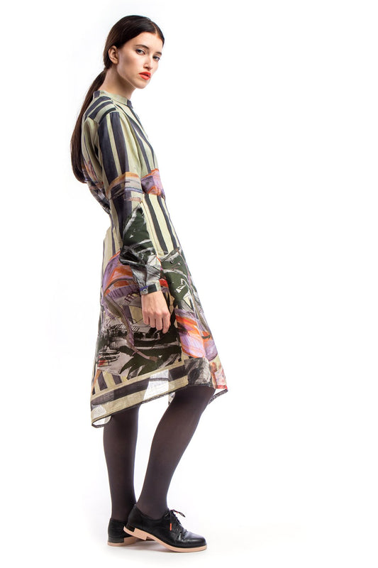 Adjustable Skirt Print Light